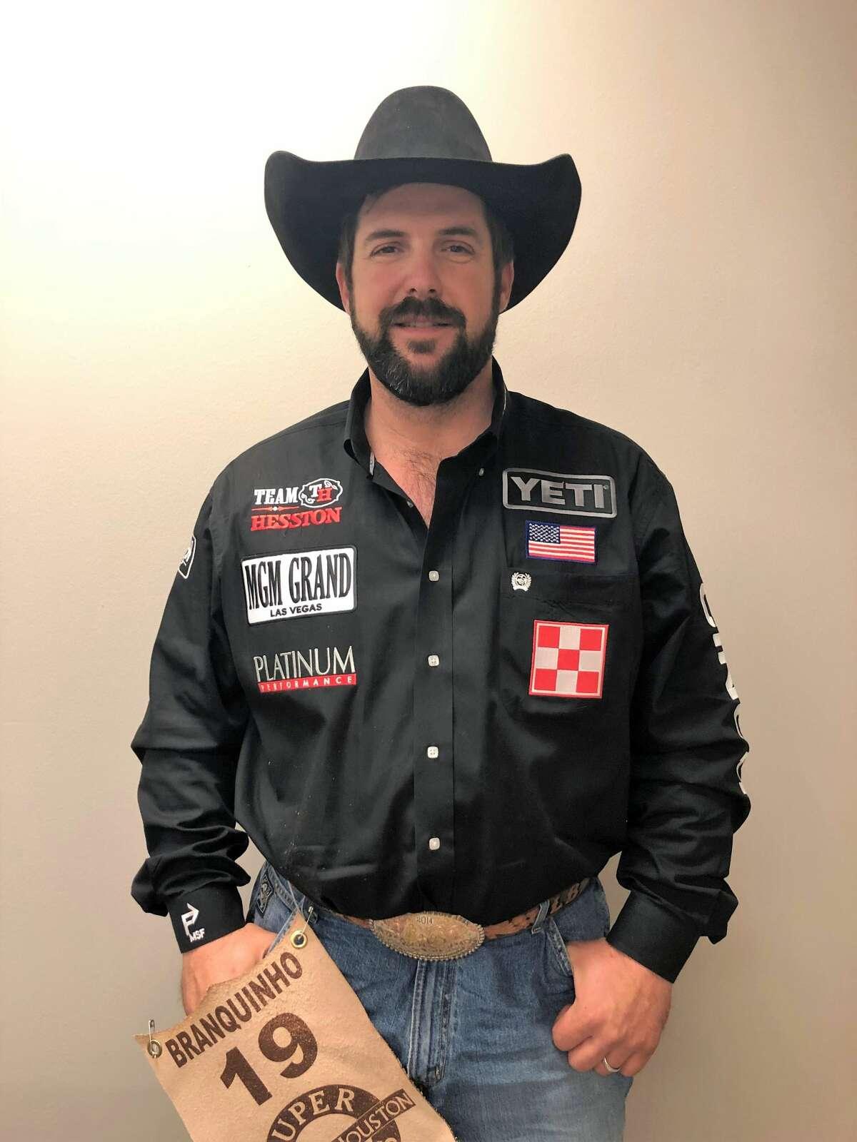 Luke Branquinho Event: Steer wrestling Age: 38 From: California