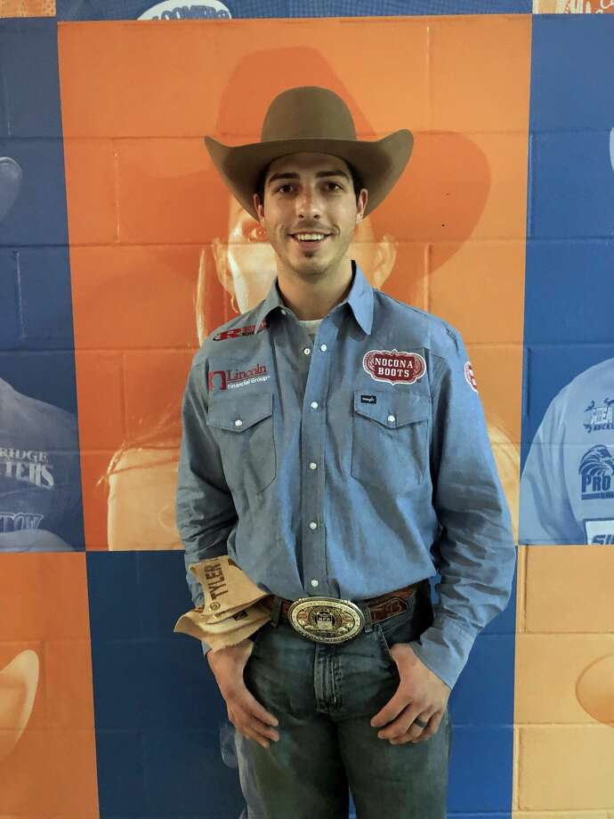 Tyler BinghamEvent: Bull riding Age: 26 From: Utah  >>> Click through to see more cowboy scars. Photo: Marcy De Luna
