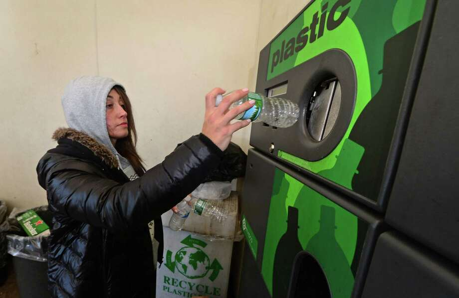 A new report about the collapse of the state's recycling industry supports the expansion of cans and bottles eligible for deposits. Photo: Erik Trautmann / Hearst Connecticut Media / Norwalk Hour