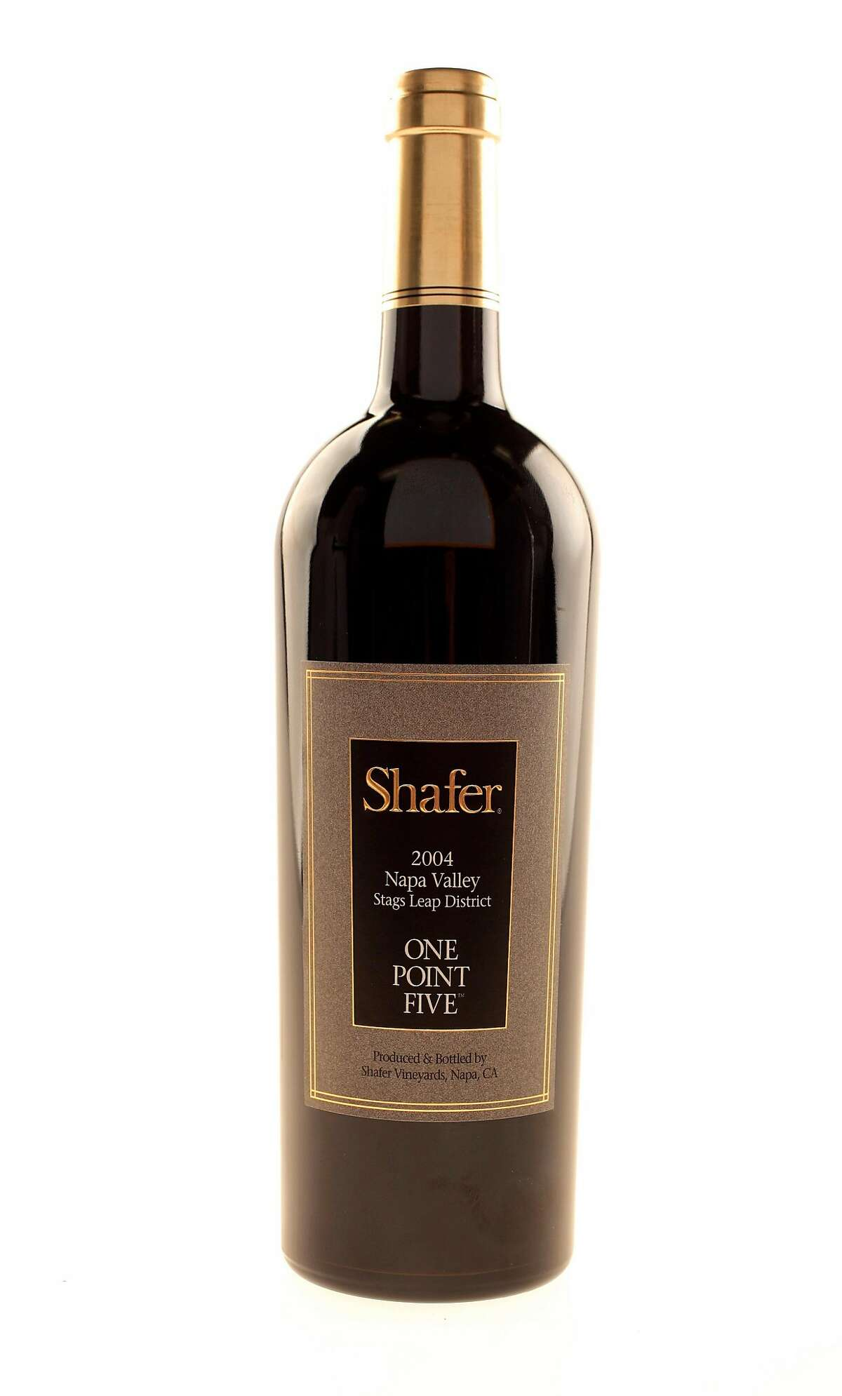 SN16_SHAFER_01JOHNLEE.JPG Shafer One Point Five wine. By JOHN LEE/SPECIAL TO THE CHRONICLE Ran on: 03-16-2007