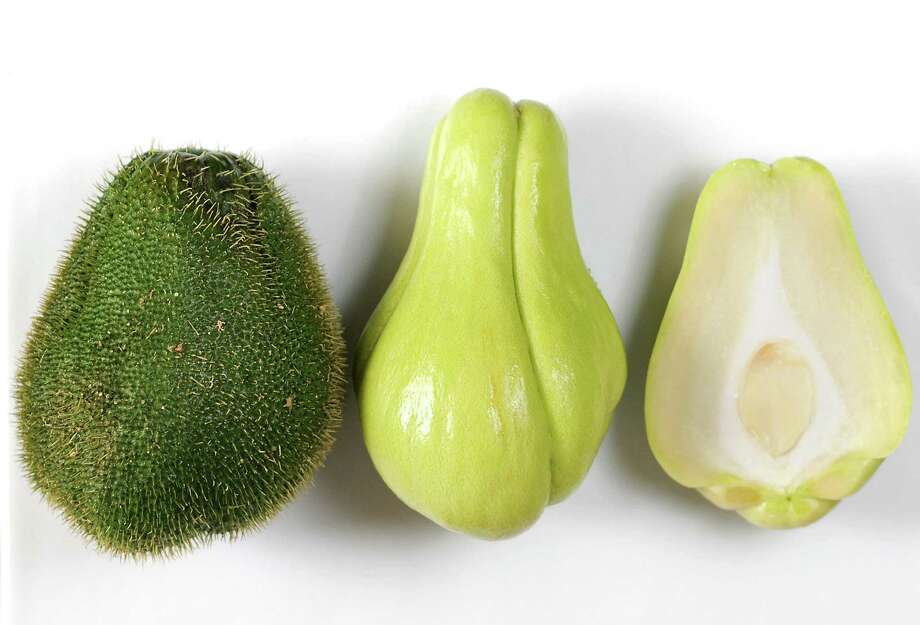 Chayote squashes are trendy vegetables. Photo: Paul Stephen / Staff