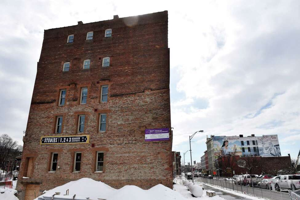 Exterior of 444 River Lofts, the former Former Marvin Neitzel building on River Street, on Monday, March 4, 2019, in Troy, N.Y. The property is being converted into loft style apartments. (Will Waldron/Times Union)