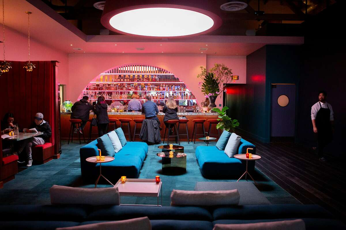 Moongate Lounge is the bar above Mister Jiu's restaurant at 28 Waverly Pl. It's not open yet, but the lifting of restrictions means its luxe interior may be closer than ever to reopening.