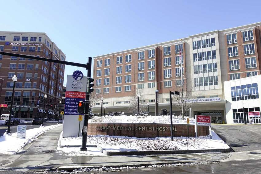 A view of Albany Medical Center on Monday, March 4, 2019, in Albany, N.Y. (Paul Buckowski/Times Union)