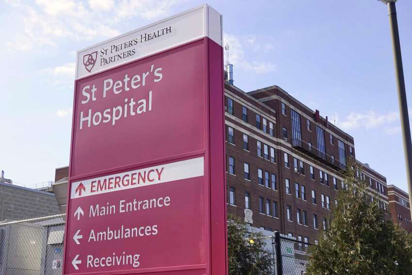 A view of St. Peter's Hospital on Monday, March 4, 2019, in Albany, N.Y. (Paul Buckowski/Times Union)