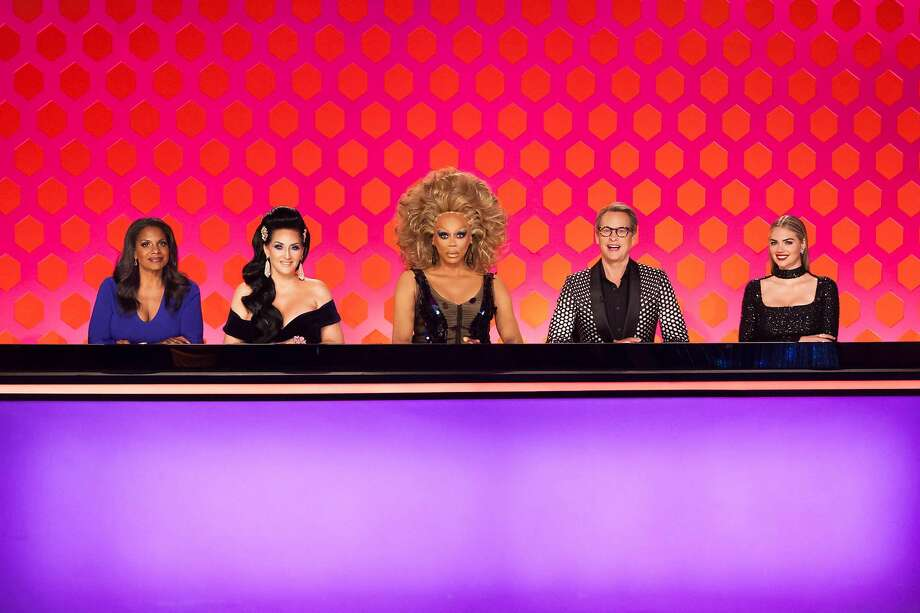 Supermodel Kate Upton and Broadway star Audra McDonald guest judge on the RuPaul's Drag Race Snatch Game episode. Photo: VH1