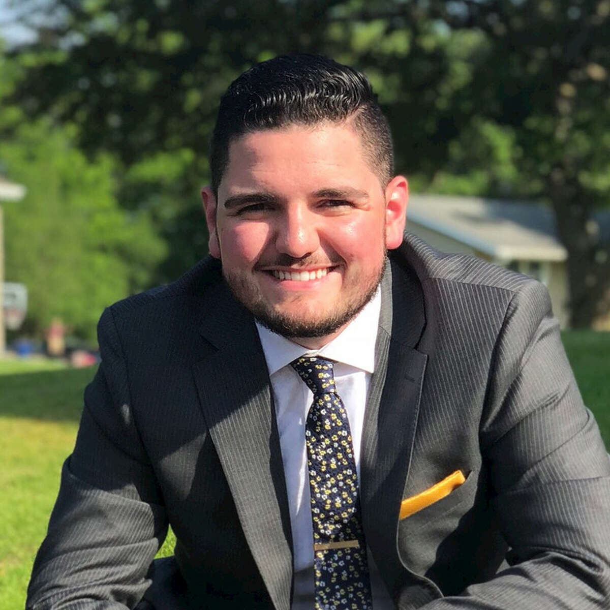 Juliano Febo, a 21-year-old Republican, is running for Schenectady County Legislature District 3 in the November 2019 election.