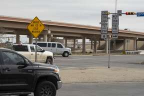 The intersection of Loop 250 and Andrews Highway, seen 03/04/2019, has the most crashes in Midland. Tim Fischer/Reporter-Telegram