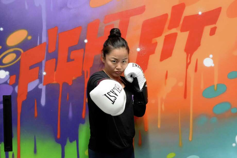Bi Nguyen poses at Savarese fight fit in West University Place. Nguyen is a MMA fighter and a trainer at the gym. Photo: Craig Moseley, Houston Chronicle / Staff Photographer / ©2019 Houston Chronicle