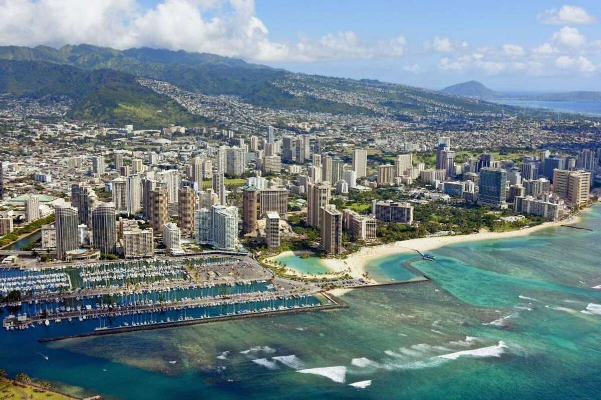 Flights to Honolulu are cheap, but not as cheap as to Maui, Kona or Lihue due to the Southwest Effect