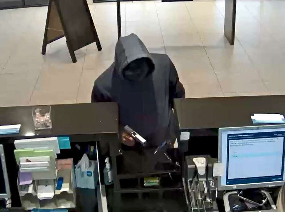 The FBI Violent Crime Task Force is asking the public for help in identifying and locating this suspect in a bank robbery on Monday, March 4, at the Capital One Bank at 1629 S. Voss Road. Photo: FBI Violent Crime Task Force