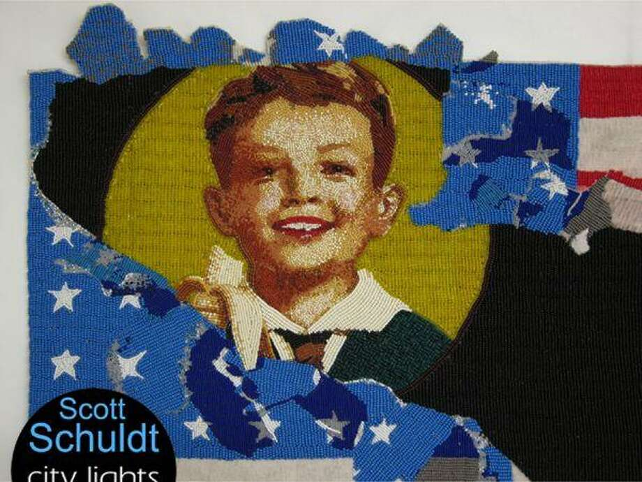 """Bridgeport's City Lights Gallery is hosting an opening reception March 14 for its latest exhibit, Scott Schuldt's """"The Re-Education of Smedley Butler and other Stories."""" Photo: City Lights Gallery"""