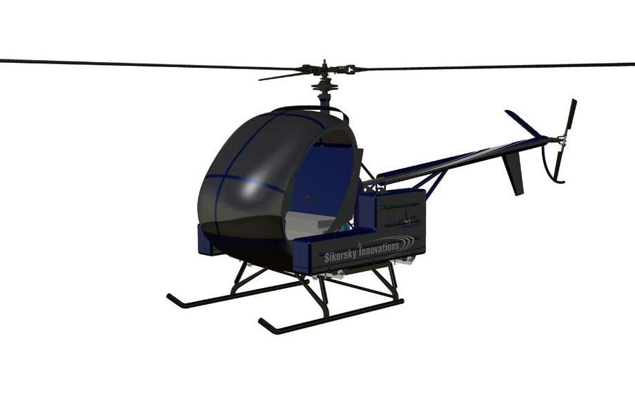 This is a computer-image of the Firefly, Sikorsky Aircraft's battery-powered helicopter that the company is unveiling today at the EAA AirVenture air show in Oshkosh, Wis. The show runs through Sunday. Photo: Contributed Photo / Connecticut Post Contributed