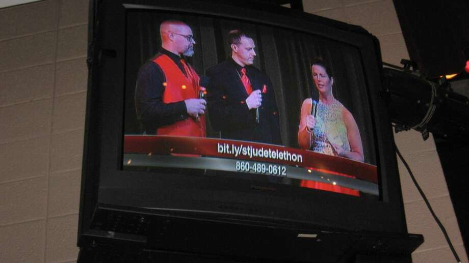 The Tim Driscoll St. Jude Children's Research Hospital Telethon was streamed live from Torrington High School on Sunday, March 3. Photo: John Torsiello / Hearst Connecticut Media /