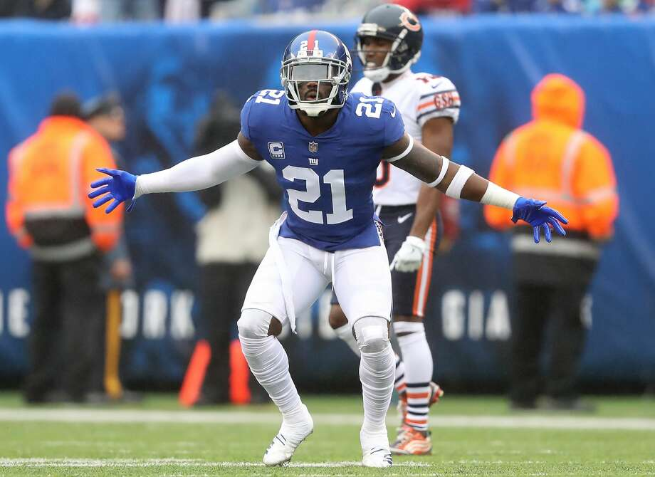 According to multiple reports Tuesday, the New York Giants won't franchise tag Pro Bowl strong safety Landon Collins. He'll be a free agent when the new league year begins next Wednesday.  Photo: Elsa/Getty Images