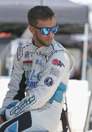 Race car driver Tanner Thorson injured in fiery Modesto crash