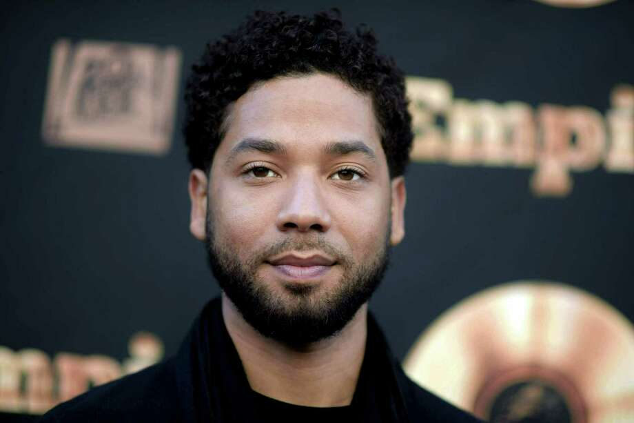 """Actor and singer Jussie Smollett attends the """"Empire"""" FYC Event in Los Angeles in 2016. Smollett, who is black and gay, is charged with filing a false police report in January 2019 when he said he was attacked in Chicago by two masked men who used derogatory language and put a rope around his neck. Photo: Richard Shotwell /Associated Press / Invision"""