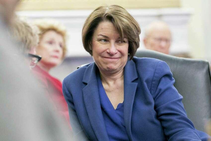 Sen. Amy Klobuchar, D-Minn., has been described as a horrible boss. Could she still be a great president?