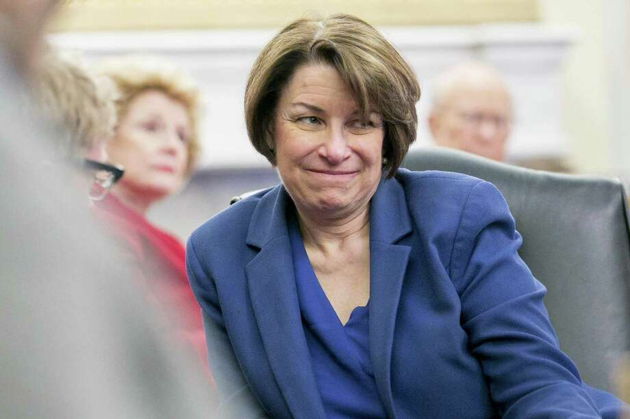 Sen. Amy Klobuchar, D-Minn., has been described as a horrible boss. Could she still be a great president? Photo: Andrew Harrer /Bloomberg / © 2019 Bloomberg Finance LP