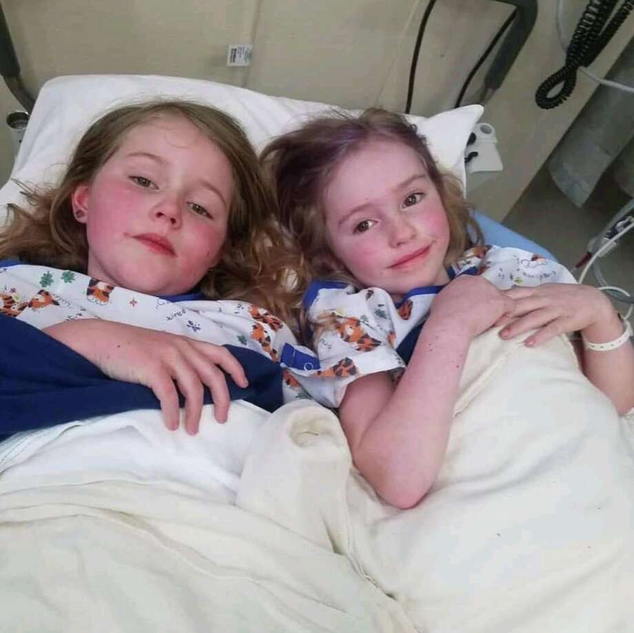 Five-year-old Caroline Carrico and 8-year-old Leia Carrico were found after they survived 44 hours in the woods in Humboldt County. Photo: Napa County Sheriff
