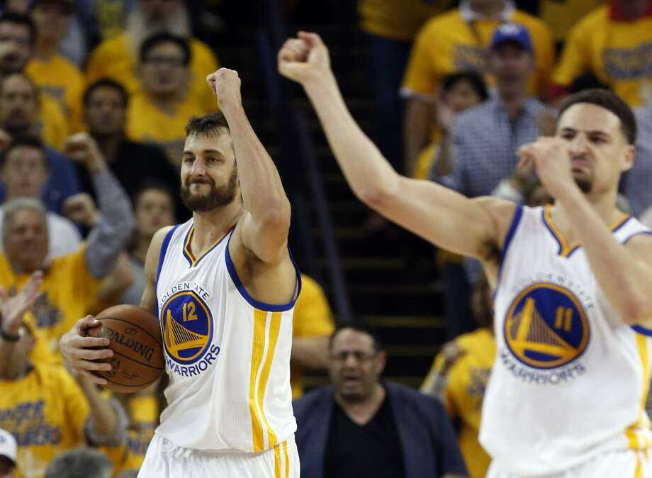 Andrew Bogut says Klay Thompson welcomed him back to the Warriors in the most Klay way possible