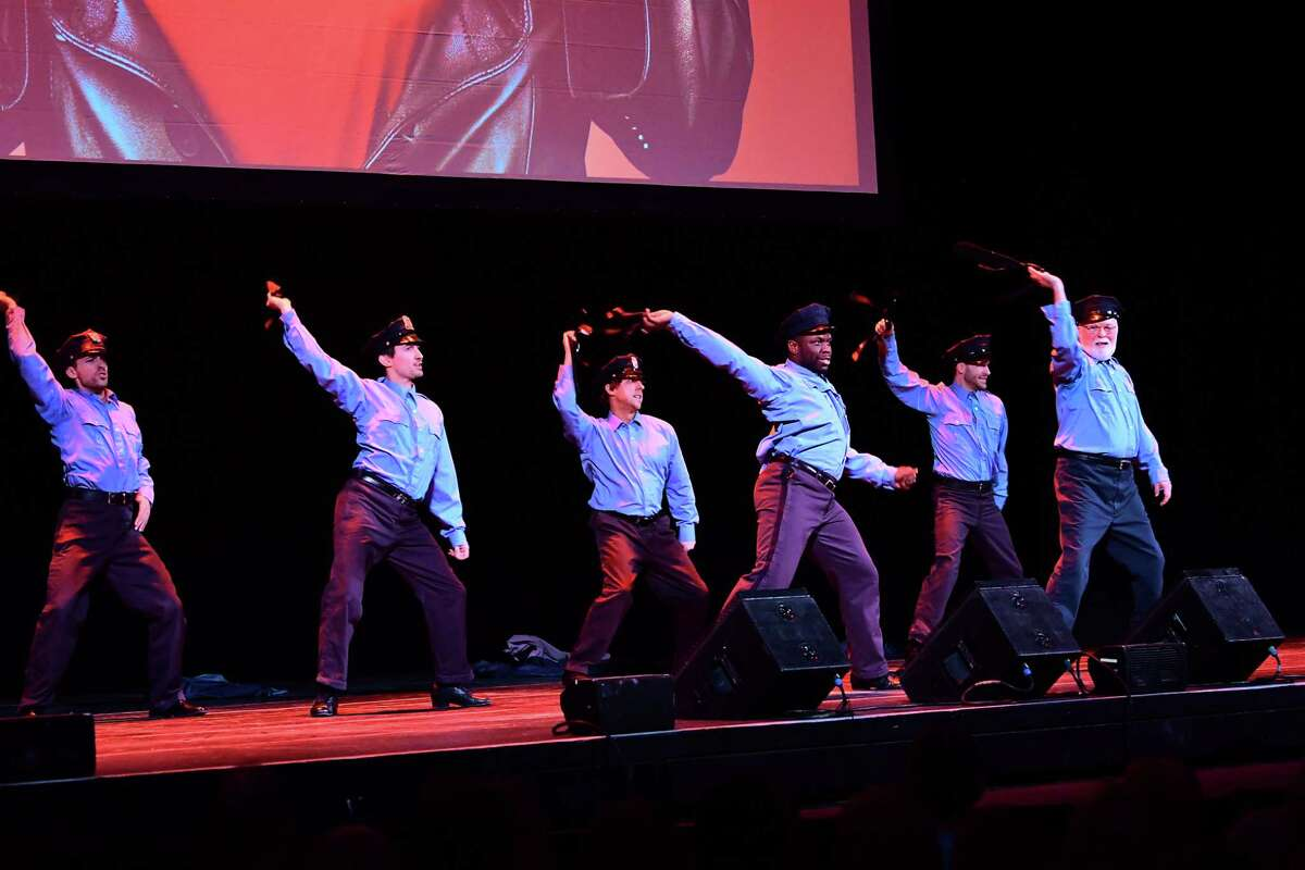 Dancers perform after the announcement of The Full Monty as Proctors and Capital Repertory Theatre announce their 2019-20 subscription series at Proctors Theater on Monday, March 4, 2019 in Schenectady, N.Y. (Lori Van Buren/Times Union)