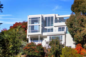 The Spyglass House is a modern beauty in the Claremont Hills with incredible views