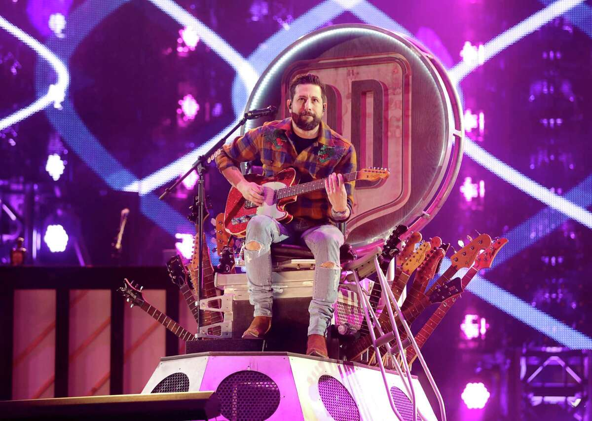 Old Dominion perform at the Houston Livestock Show and Rodeo Monday, March 4, 2019, in Houston.