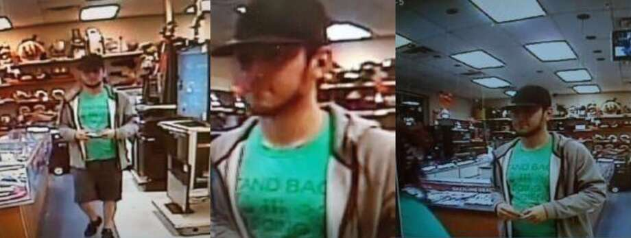Laredo police said that this man used another person's Texas identification to pawn a gold necklace. To report his whereabouts, call LPD at 795-2800 or Laredo Crime Stoppers at 727-TIPS (8477). Photo: Courtesy