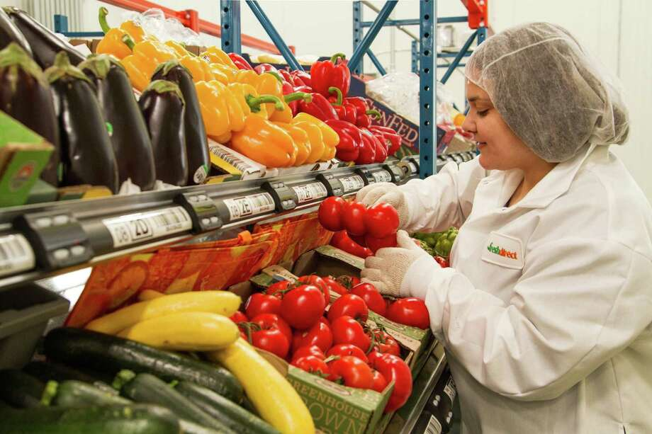 A file photo of FreshDirect's distribution facility in the South Bronx section of New York City. (Photo via BusinessWire) Photo: Joy Kim / Photo Courtesy FreshDirect / Copyright 2018, Fresh Direct, LLC. All Rights Reserved