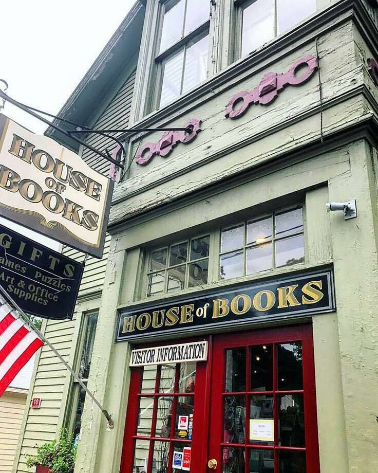 The decades-old House of Books on North Main Street in Kent is on the market, but will remain open for business. Photo: Courtesy Of House Of Books / The News-Times Contributed
