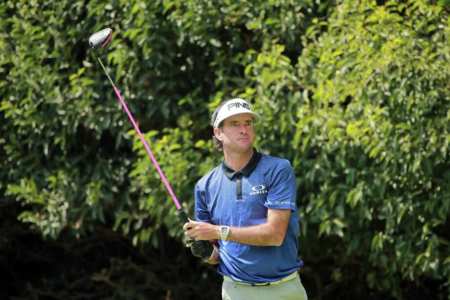 Bubba Watson plays his shot from the second tee during the third round of World Golf Championships-Mexico Championship at Club de Golf Chapultepec on February 23, 2019 in Mexico City, Mexico. Photo: Hector Vivas / Getty Images / 2019 Getty Images