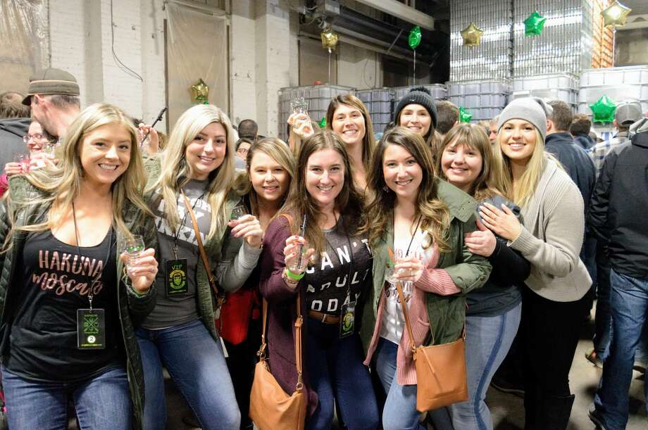 Were you seen at Nine Pin Cider's Gathering of the Farm Cideries at its production facility in Albany on Saturday, March 2, 2019, the cidery's fifth anniversary? Photo: Relentless Awareness