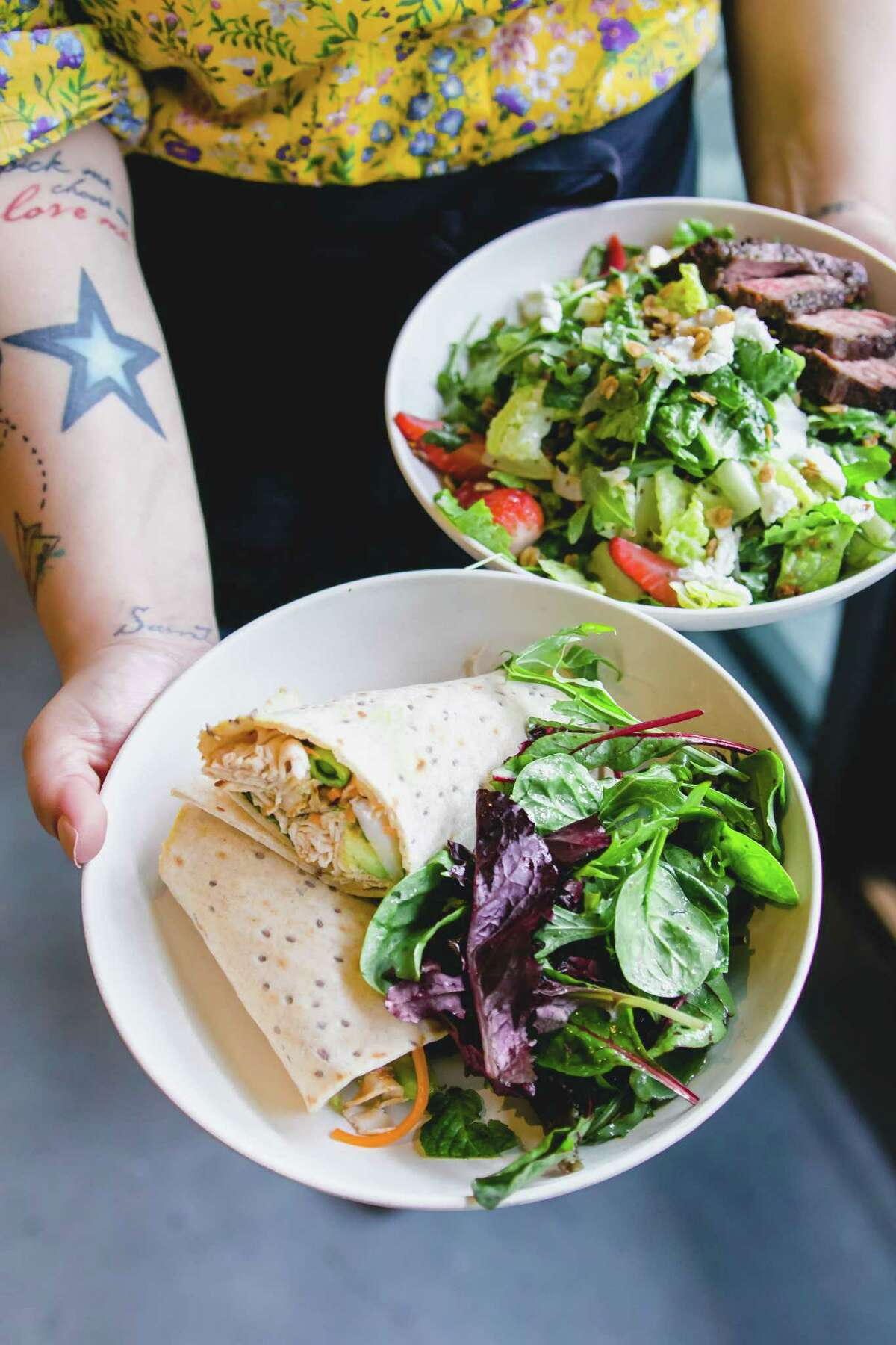 Flower Child, the healthy, fast-casual restaurant brand, has opened in The Woodlands at 1900 Lake Woodlands Dr.