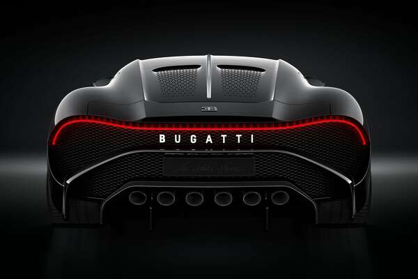 "Bugatti's ""La Voiture Noire"" is priced at $12.5 million. The one-time vehicle has already been sold."