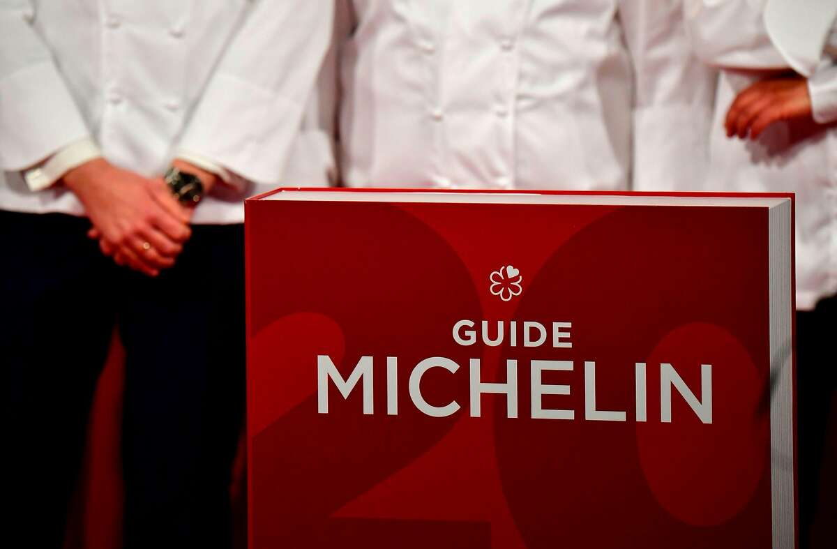 Cooks attend the award ceremony of Michelin stars for excellence of the Guide Michelin Germany restaurant guide, on February 26, 2019 in Berlin. (Photo by Tobias SCHWARZ / AFP)TOBIAS SCHWARZ/AFP/Getty Images