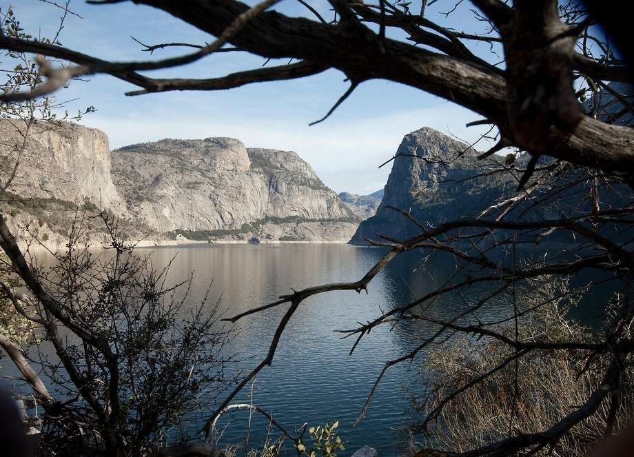 Hetch Hetchy Reservoir, located along the northwestern region of Yosemite National Park, can be a staging area for several day hikes, ranging from easy to hard — and with far fewer people. Photo: Tomas Ovalle / Special To The Chronicle