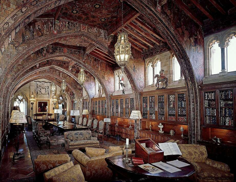 The Gothic Study, Mr. Hearst's private library and office can been seen on the Upstairs Suites Tour at Hearst Castle. Photo: Courtesy Hearst Castle/California State Parks