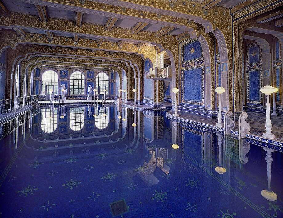 The indoor Roman Pool at Hearst Castle in San Simeon, California. Photo: Hearst Castle / California State Parks