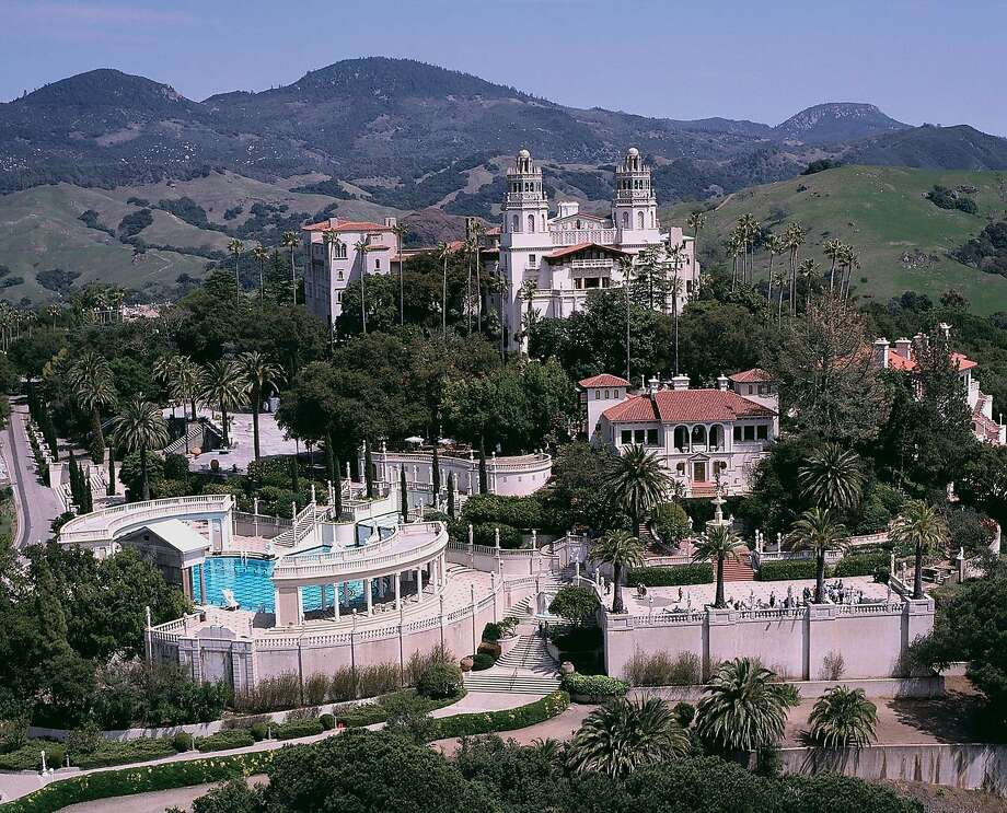 Hearst Castle in its heyday. Photo: Courtesy Hearst Castle/California State Parks /