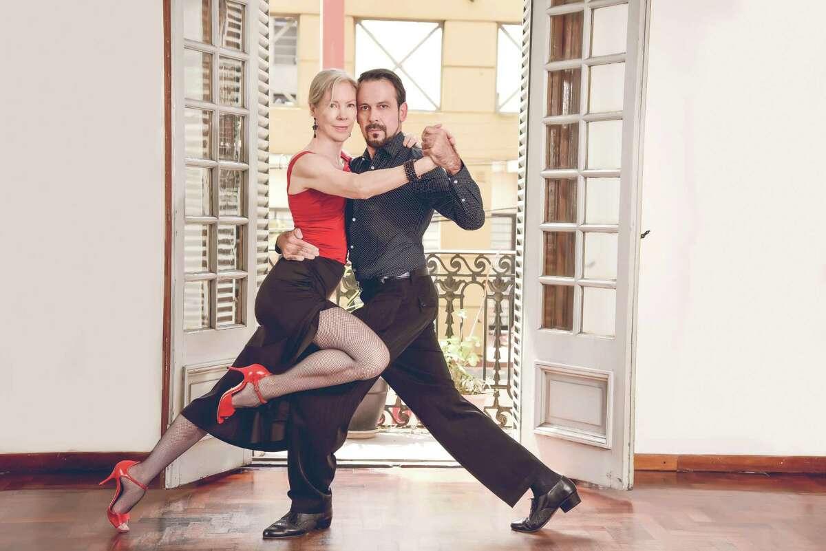 Dancers Dale Ellison and Jorge