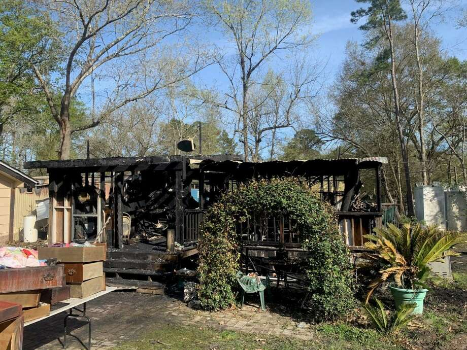 A space heater is to blame for a house fire in New Caney early Tuesday morning. Photo: Courtesy Photo