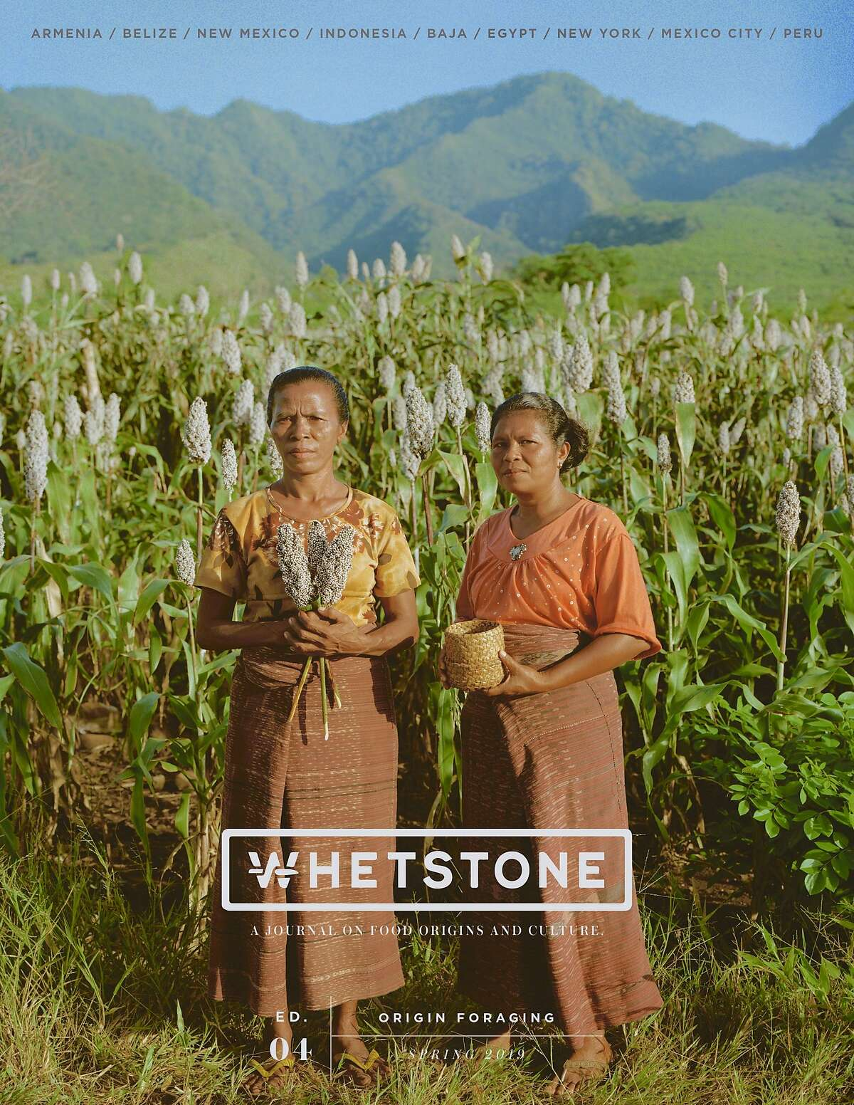 The spring 2019 issue of Whetstone magazine, which is published by Whetstone Media, a Bay Area multimedia company run by founder Stephen Satterfield and Melissa Shi.