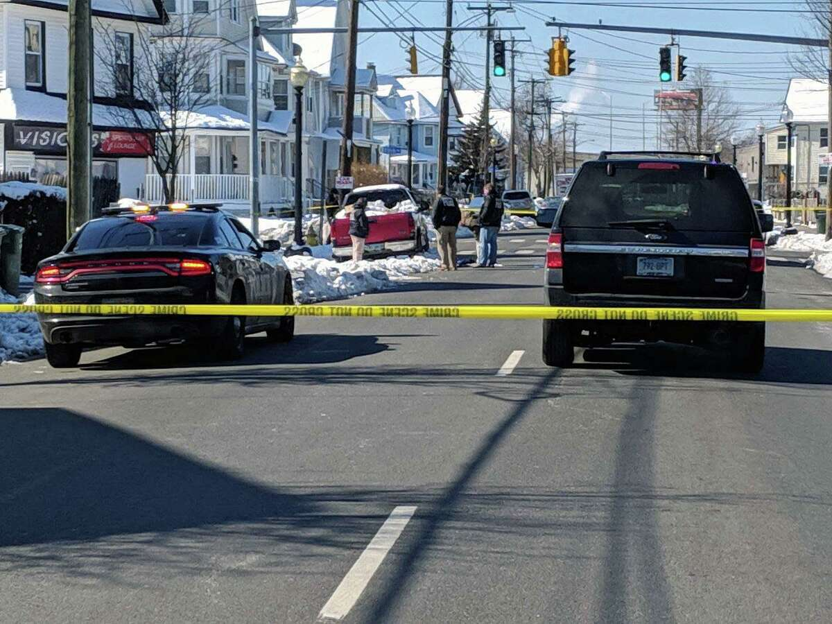 Bridgeport, Conn., police are investigting a homicide on the morning of March 5, 2019.