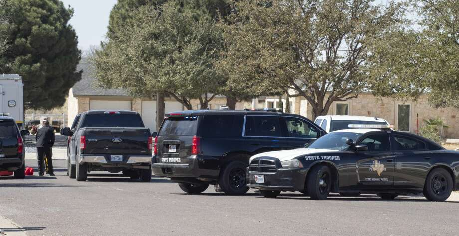 Texas State Troopers, DPS, investigate a Midland officer shot and killed 03/05/2019 at a home on Eagle Cove, off N. Midkiff Road. Tim Fischer/Reporter-Telegram Photo: Tim Fischer