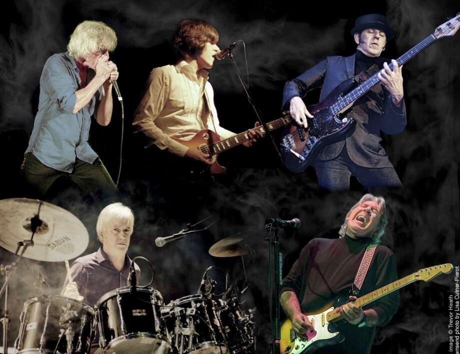 A composite photo of The Yardbirds, due at The Kate March 14. Photo: The Kate / Contributed Photo