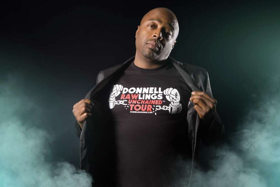 Donnell Rawlings will play Mohegan's Comix from Marchg 14-16. Photo: Mohegan Sun / Contributed Photo