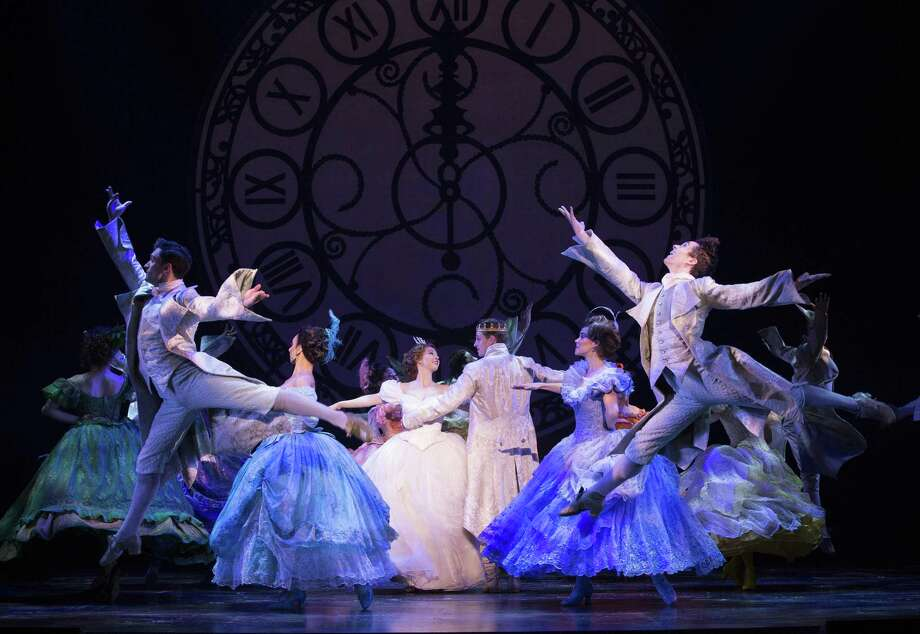 """Kaitlyn Mayse and Lukas James Miller dance in """"Cinderella."""" Photo: Carol Rosegg / Contributed Photo"""