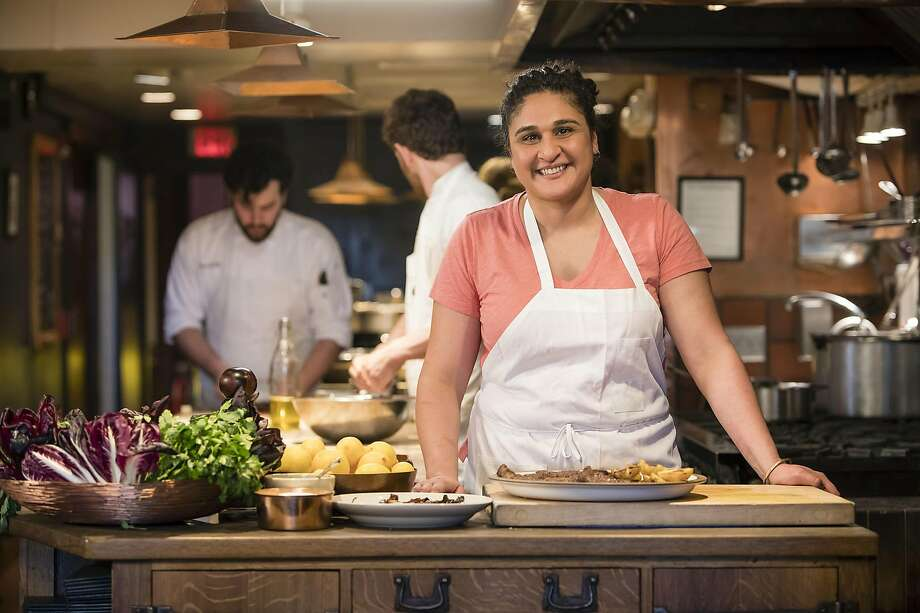 "Samin Nosrat (chef and author of ""Salt, Fat, Acid, Heat: Mastering the Elements of Good Cooking"")