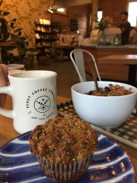 Everything is house-crafted at San Luis Obispo's Scout Coffee, from the baked goods to the granola to, of course, the locally roasted coffee. Photo: Robert Earle Howells